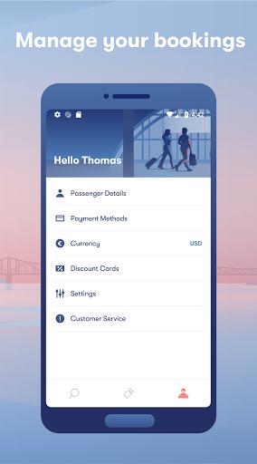 Omio: Book Train, Bus & Flight Tickets apktram screenshots 5