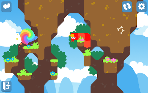 Snakebird Primer Screenshot