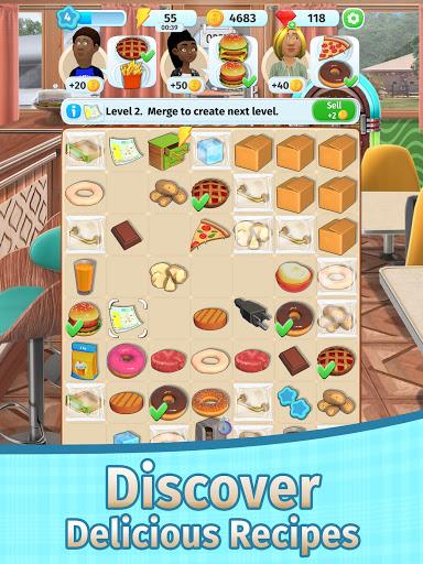Tasty Merge - Delicious Restaurant Game 1.4 screenshots 9