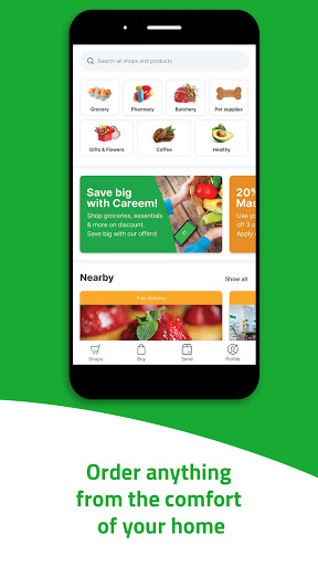 Careem - Rides, Food, Shops, Delivery & Payments android2mod screenshots 4