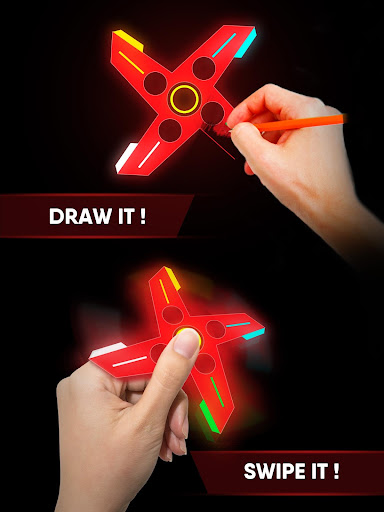 Draw Finger Spinner 1.1.5 screenshots 6