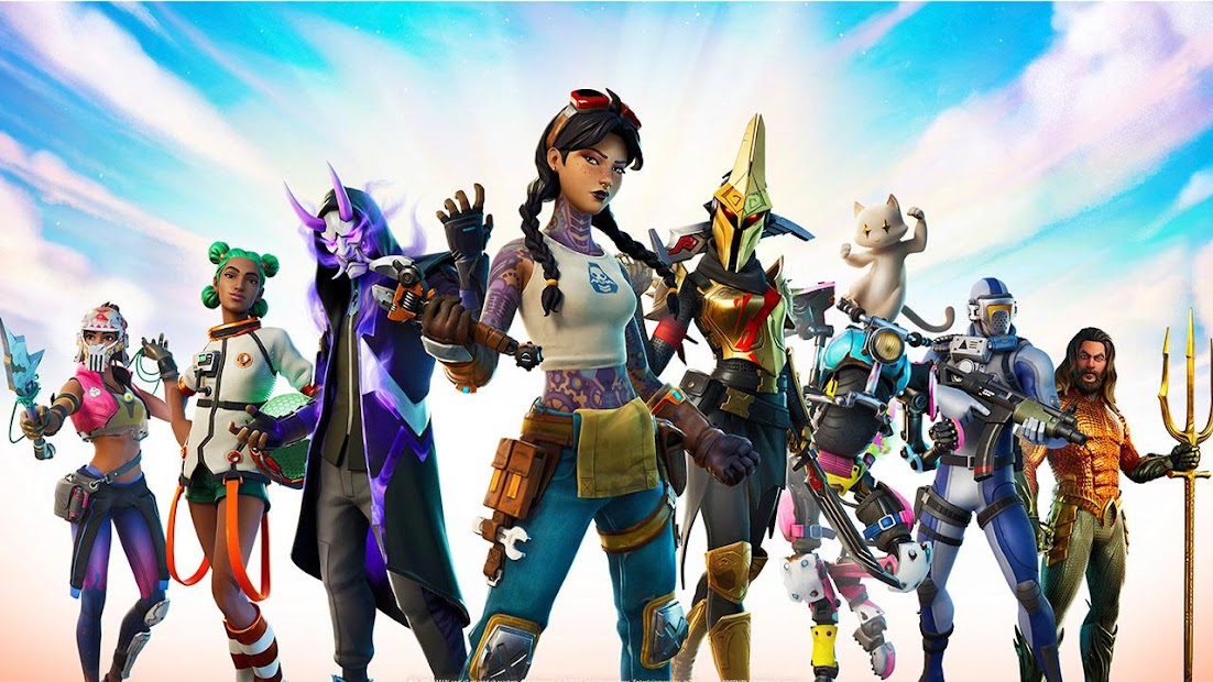 Wallpapers for Fortnite skins, fight pass season 9 Android App Screenshot