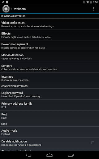 IP Webcam Pro  screenshots 6