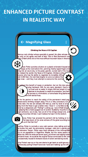 Magnifier /Text Magnifier/Digital Magnifying Glass android2mod screenshots 4