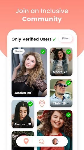 Curvy Singles Dating 1.0.13 Screenshots 2