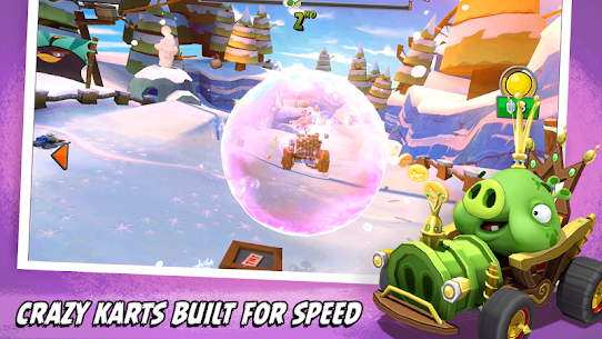 Download Angry Birds Go Mod Apk 2021 [Unlimited Coins/karts/Gems] 4