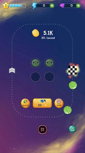 merge planets space : hyper casual game screenshot 3