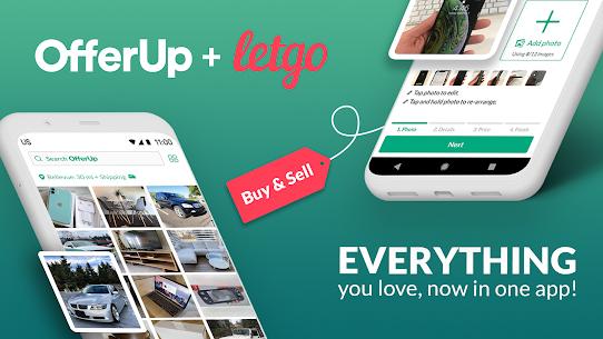 OfferUp  Buy. Sell. Letgo. Mobile marketplace Apk 3