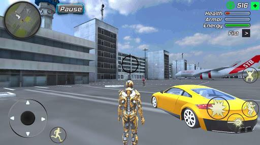 Super Crime Steel War Hero Iron Flying Mech Robot 1.2.1 Screenshots 4