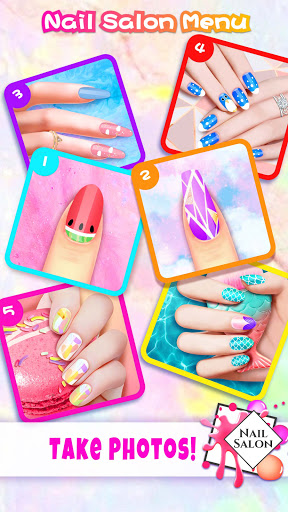 Super Nail Salon: Girl Games screenshots 14