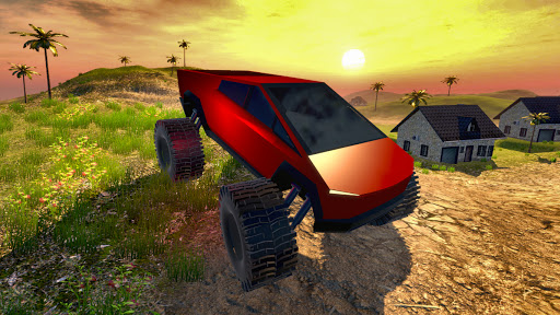 Off road Truck Simulator: Tropical Cargo android2mod screenshots 9