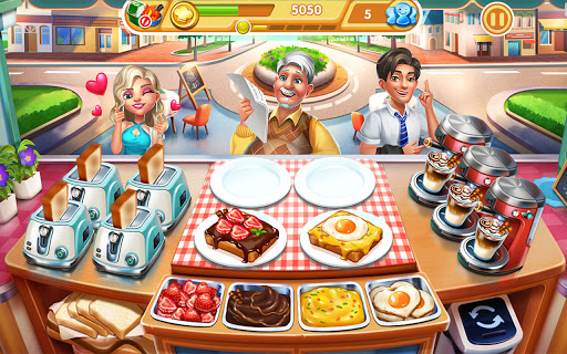 Cooking City: frenzy chef restaurant cooking games  screenshots 23