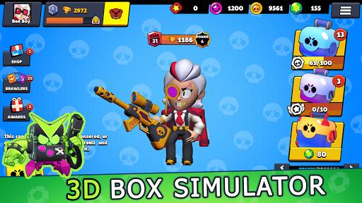 Box Simulator Brawl Stars - Loot 3D skin  screenshots 1