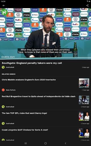 OneFootball - Soccer News, Scores & Stats  screenshots 9