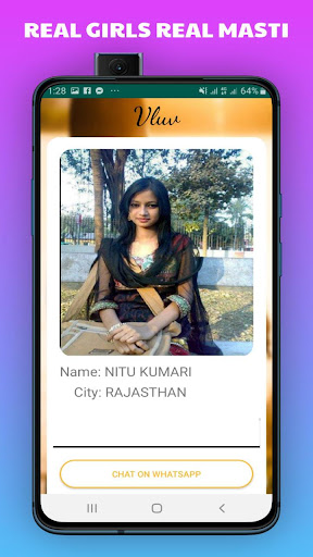 Vluv -Indian Girls Mobile Number For Whatsapp Chat 1.0 Screenshots 5