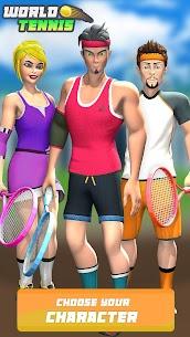 Dünya Tenisi çevrimiçi 3D  Spor Oyunları 2021 Apk Son Sürüm 2021 4