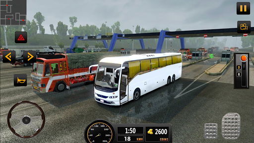 Luxury Tourist City Bus Driver ud83dude8c Free Coach Games screenshots 3