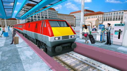Modern Train Driving Simulator: City Train Games  screenshots 18
