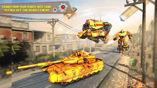 Tank Robot Car Games - Multi Robot Transformation screenshots 14