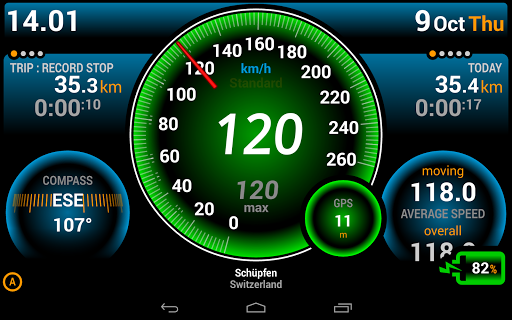 Ulysse Speedometer  Screenshots 11