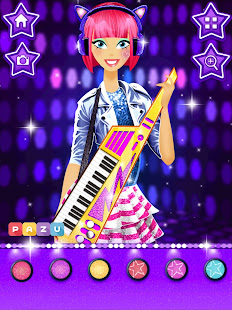 Makeup Girls - Star dress up games for kids