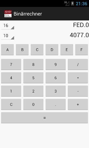 Binary Calculator For PC Windows (7, 8, 10, 10X) & Mac Computer Image Number- 12