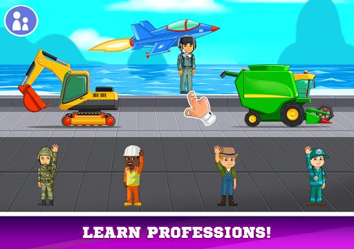Kids Cars Games! Build a car and truck wash!  screenshots 14