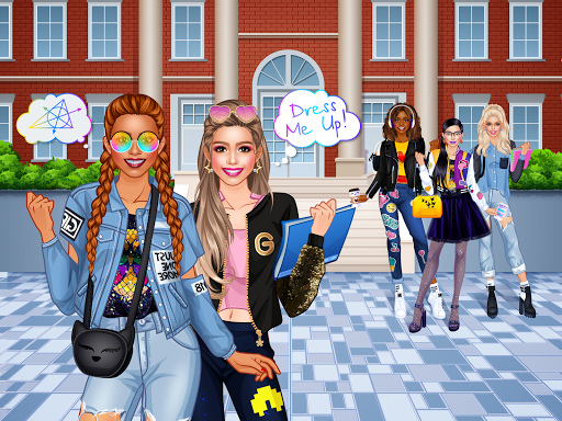 College Student Girl Dress Up android2mod screenshots 8