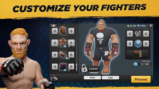MMA Manager 2021  APK MOD (Astuce) screenshots 3