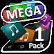 Mega Theme Pack 1 iSense Music - Androidアプリ