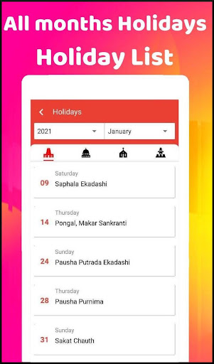 2021 Calendar  Screenshots 21