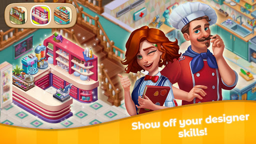 Grand Cafe Storyuff0dNew Puzzle Match-3 Game 2021 2.0.26.1 screenshots 5