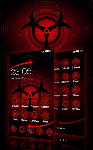 Sharingan Theme: Cool launcher Rasengan Wallpaper 4.0.11 Screenshots 1