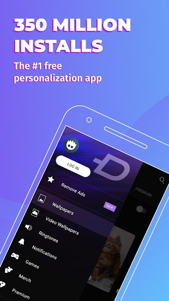 ZEDGE™ Wallpapers & Ringtones Android App Screenshot