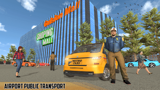 Modern Taxi Driving Game: City Airport Taxi Games  screenshots 13