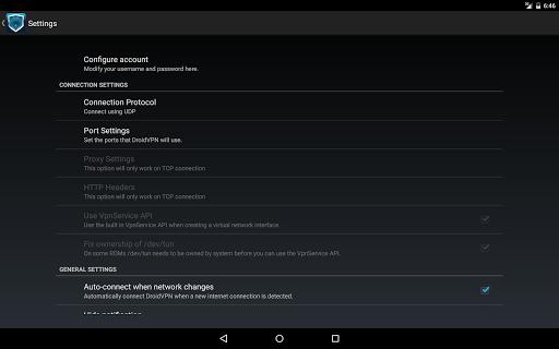 DroidVPN - Easy Android VPN 3.0.4.5 Screenshots 4