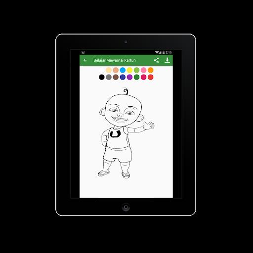 Belajar Mewarnai Gambar Kartun Untuk Anaku2013Infokuu  Screenshots 11