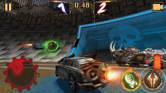 Rocket Car Ball Screenshot