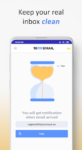 10 Minute Mail - Disposable temporary email
