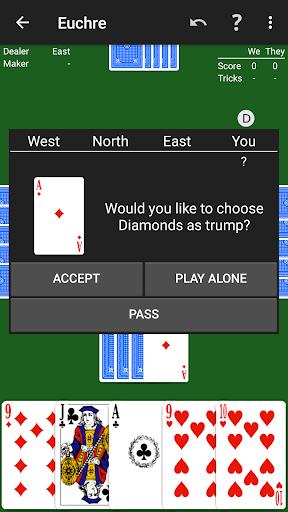 Euchre by NeuralPlay 2.70 screenshots 3