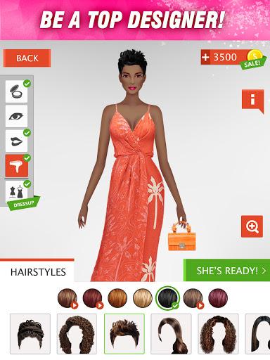 International Fashion Stylist - Dress Up Games  screenshots 12