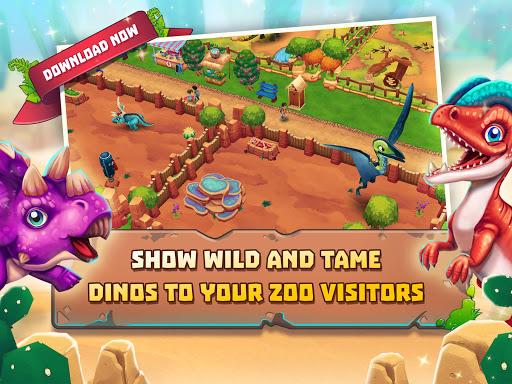 Dinosaur Park u2013 Primeval Zoo apkpoly screenshots 7