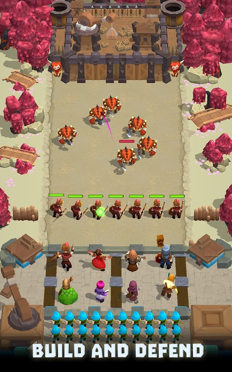 Wild Castle TD: Grow Empire Tower Defense in 2021  poster 3
