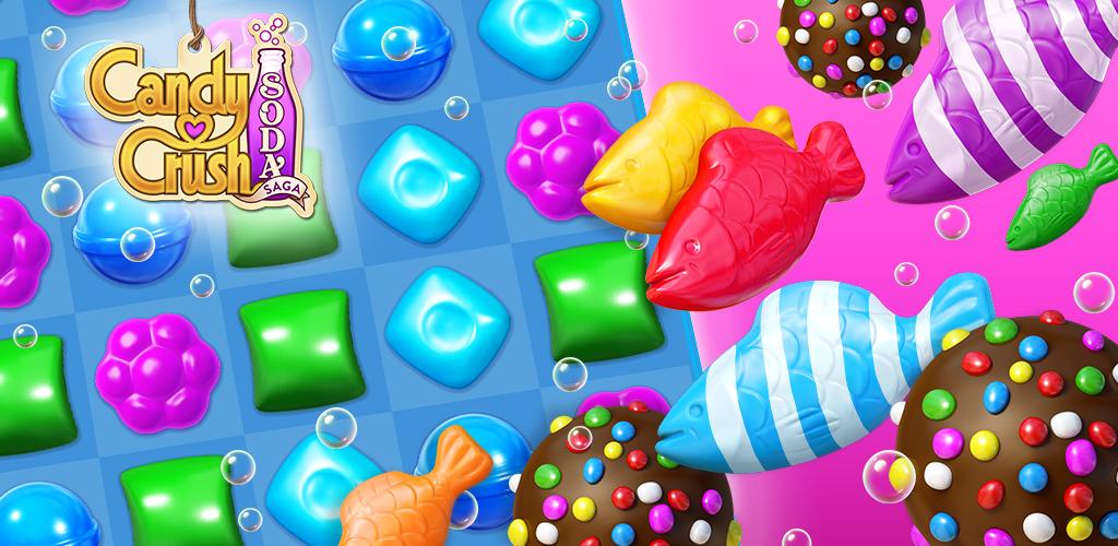 Candy Crush Soda Saga poster 0