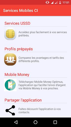 Services Mobiles Côte d'Ivoire Latest screenshots 1