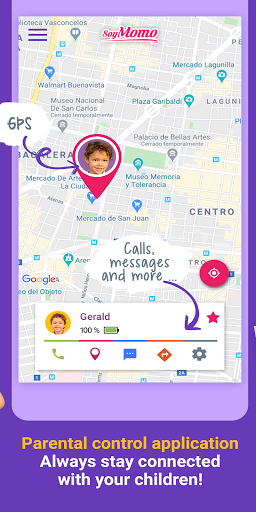 SoyMomo - Mobile GPS watch for children 4.1.1 Screenshots 3
