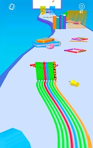 Pencil Rush 3D (MOD, Unlimited Money) For Android 5