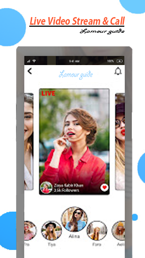 Free Lamour Live Video Stream and Chat Guide 1.0.1 Screenshots 3