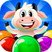 Cow pop: Bubble shooter