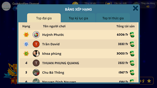 Di Tim Trieu Phu 2020:u00a0u0110u1ecdc cu00e2u hu1ecfi vu00e0 4 phu01b0u01a1ng u00e1n 2.2.0 Screenshots 2